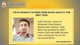 Aakif Tanveer qualifying for NEET with 99.5%