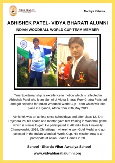 Vidya Bharati Alumni Selected in Indian Woodball World Cup Team