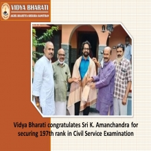 Vidya Bharati Alumni From Kerala Ranks In Civil Service Examination